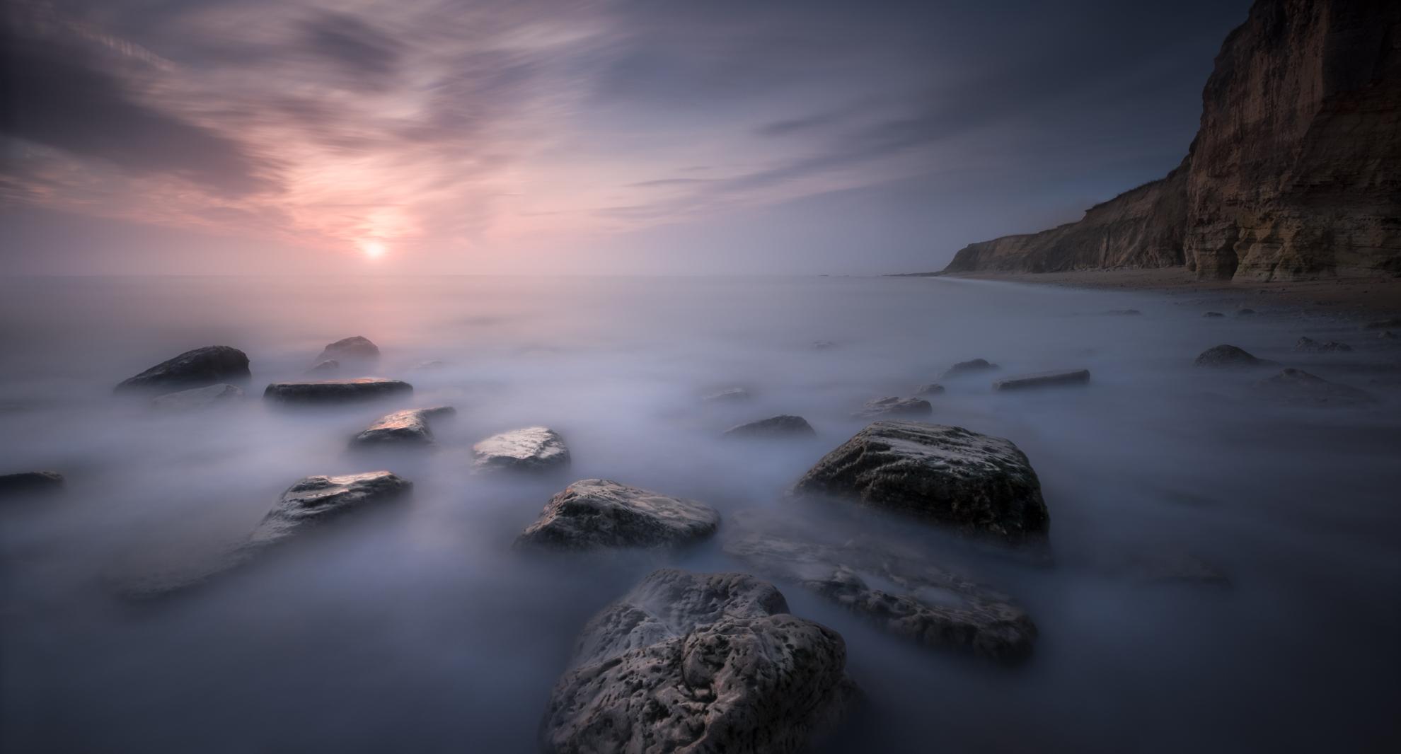 Sunrise near Sunderland, UK