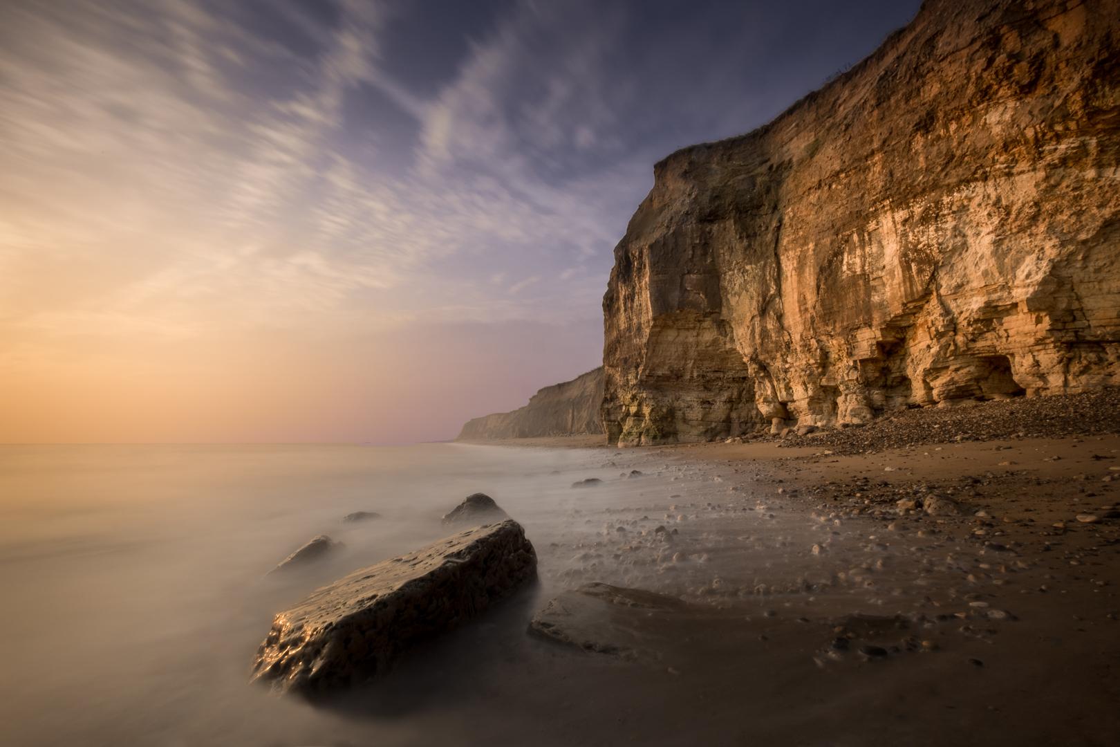 Golden Cliffs of Durham Heritage Coast