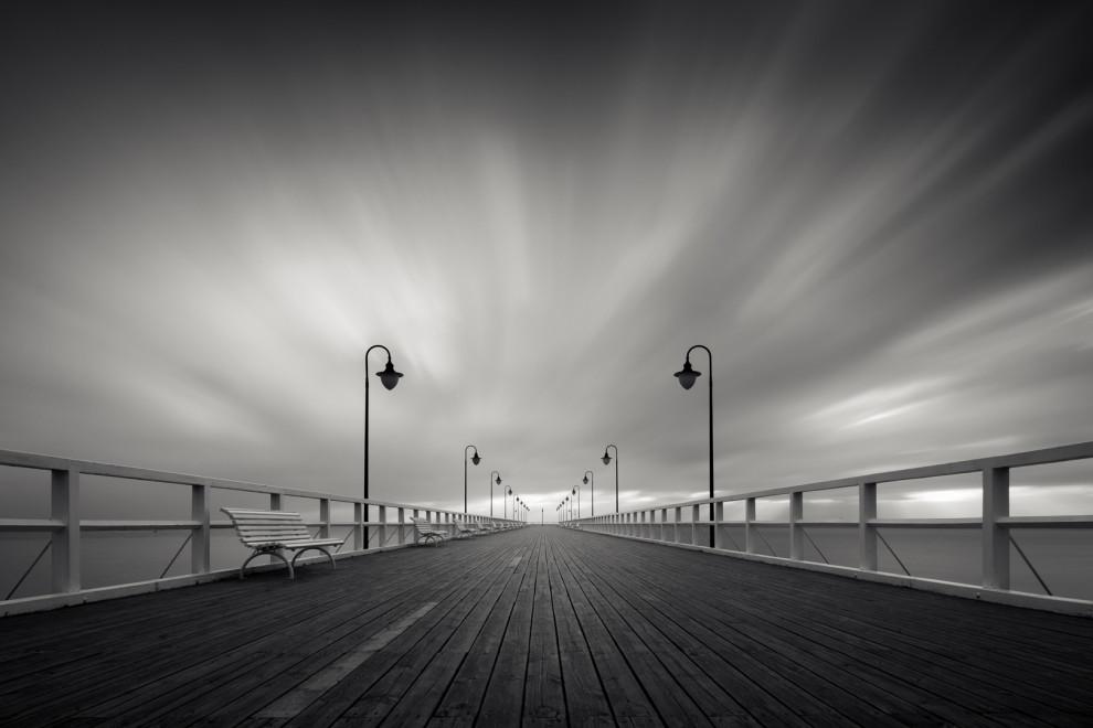 Pier in the morning II